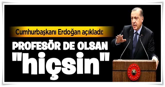 Erdoğan açıkladı: Önümüzdeki hafta...