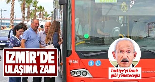 İzmir'de ulaşıma toplu zam