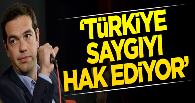Çipras: Türkiye saygıyı hak ediyor