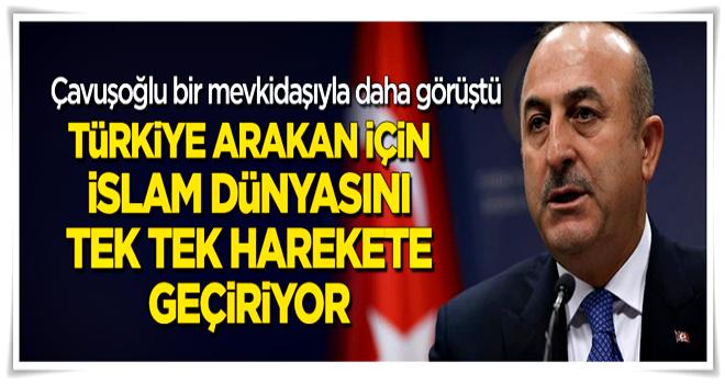 Çavuşoğlu Malezyalı mevkidaşıyla görüştü