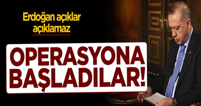 Kirli tezgâh! Erdoğan açıklar açıklamaz düğmeye bastılar