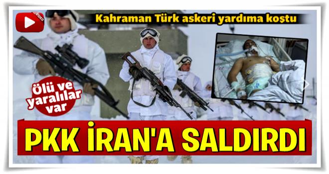 İranlı askerlere PKK saldırısı… Türk askeri kurtardı
