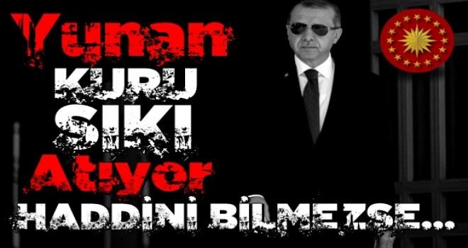 Cumhurbaşkanı Erdoğan'dan Yunanistan'a sert cevap