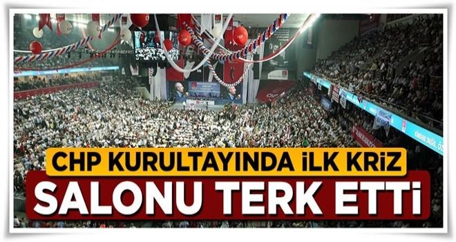 CHP kurultayında ilk kriz! Murat Karayalçın Salonu terk etti