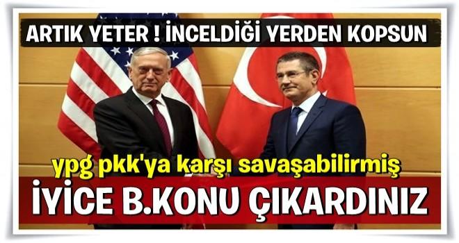 Milli Savunma Bakanı Canikli'den ABD'li mevkidaşıyla yaptığı görüşmeye ilişkin açıklama
