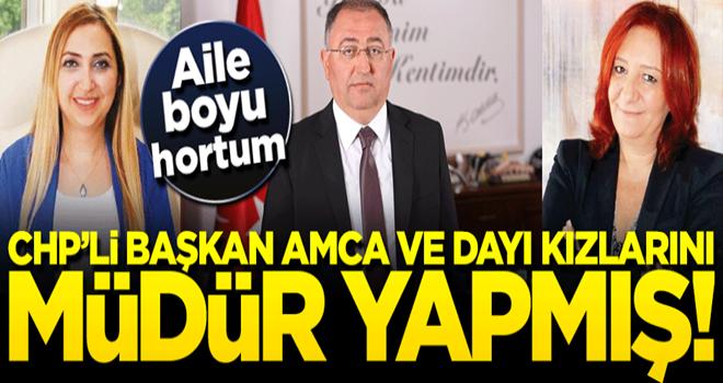 CHP'li başkan ailecek devlet imkanlarını sömürmüş!