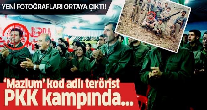 """""""Mazlum Kobani"""" kod adlı terörist 'Şahin Cilo'nun PKK kampından yeni fotoğrafları ortaya çıktı ."""