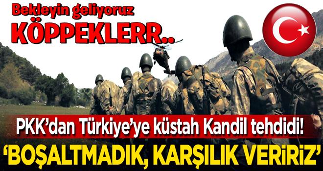 PKK'dan Türkiye'ye küstah Kandil tehdidi!