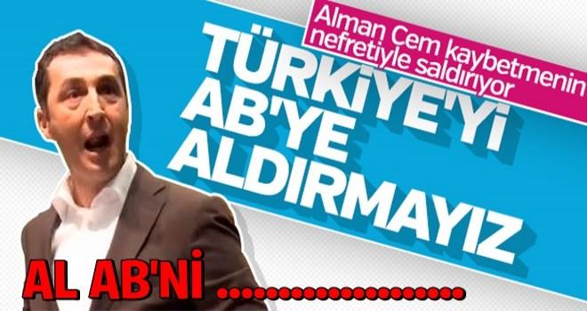 Cem Özdemir'den Türkiye hakkında küstah sözler