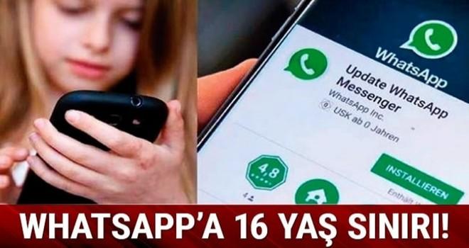 WhatsApp'a 16 yaş sınırı!
