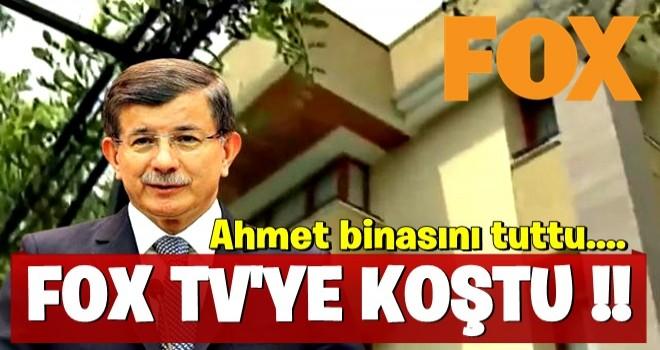Ahmet FOX'a koştu! İşte yeni partinin binası