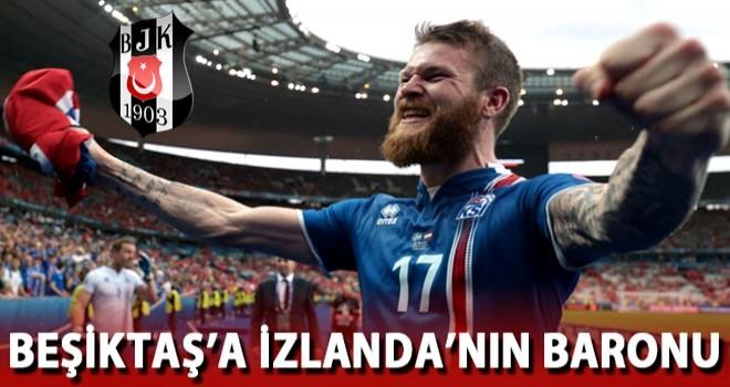 Beşiktaş'a İzlanda'nın baronu