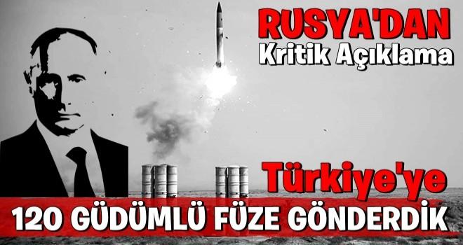 Rus kaynaklar: Türkiye'ye S-400 sistemleri ile birlikte 120 füze teslim edildi