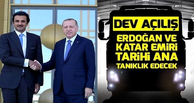 Başkan Erdoğan'ın katılımıyla BMC'nin 'stratejik üssünün' temeli atılıyor .