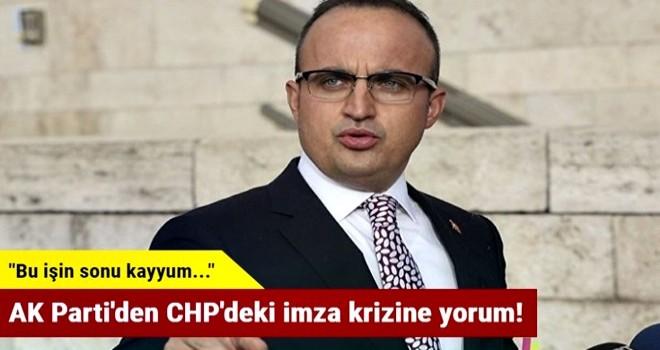 AK Parti'den CHP'deki imza krizine yorum!