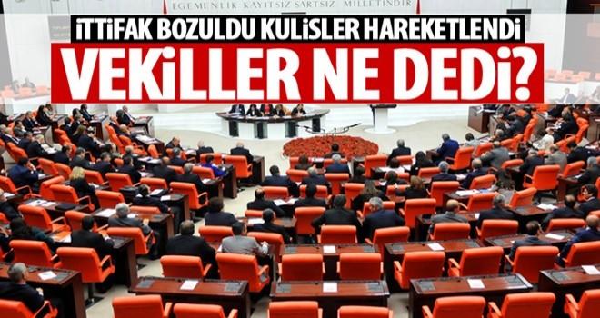 AK Parti ve MHP'li vekillerin tepkileri