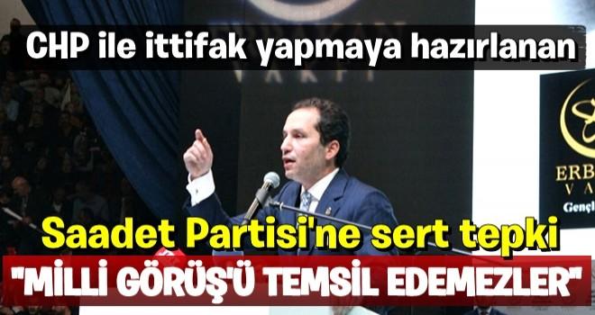 Fatih Erbakan'dan Saadet yönetimine sert tepki