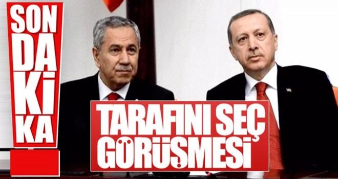 Beştepe'de Erdoğan-Arınç buluşması