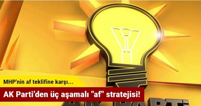 AK Parti'den üç aşamalı