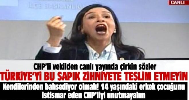 CHP'li Gülay Yedekçi'den çirkin suçlama