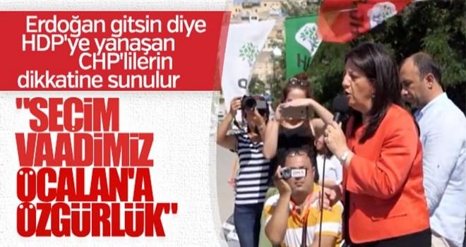 Pervin Buldan'dan skandal Öcalan açıklaması