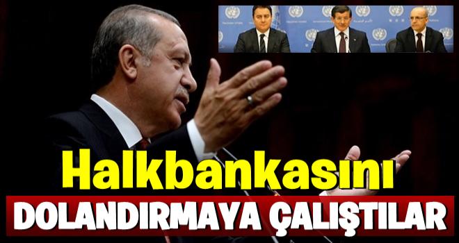 Cumhurbaşkanı Erdoğan; Ahmet Davutoğlu, Ali Babacan ve Mehmet Şimşek'i ifşa etti
