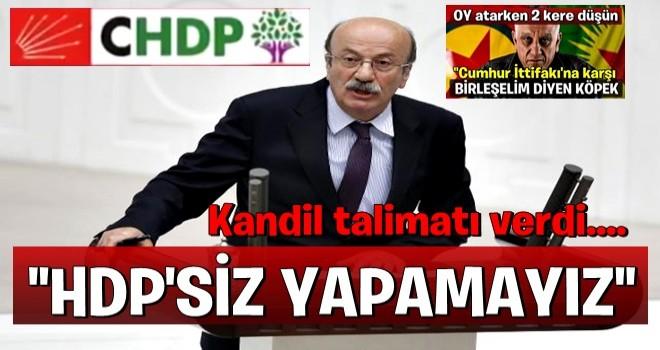 Kandil talimatı verdi..CHP'li Mehmet Bekaroğlu HDP ile ittifak istedi