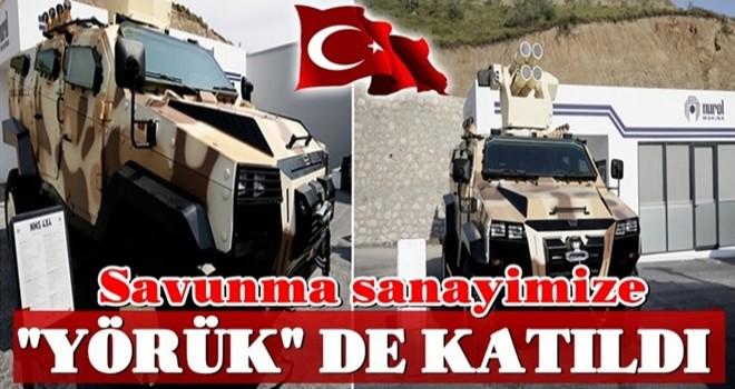 Türkiye'nin savunmadaki markalarına Yörük de katıldı