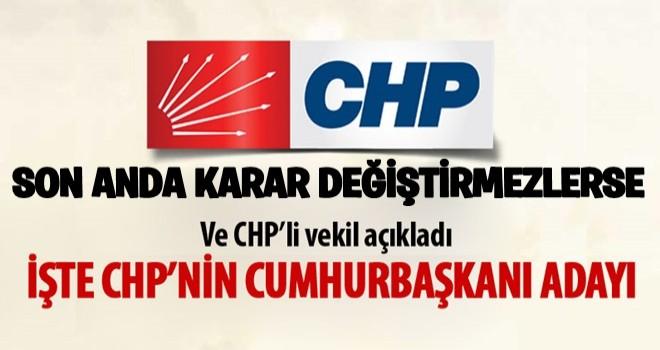 CHP'li İlhan Kesici: 'Cumhurbaşkanı adayımız Muharrem İnce'