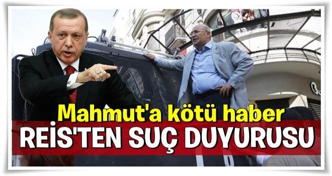 Erdoğan'dan.provokatör Mahmut Tanal'a suç duyurusu