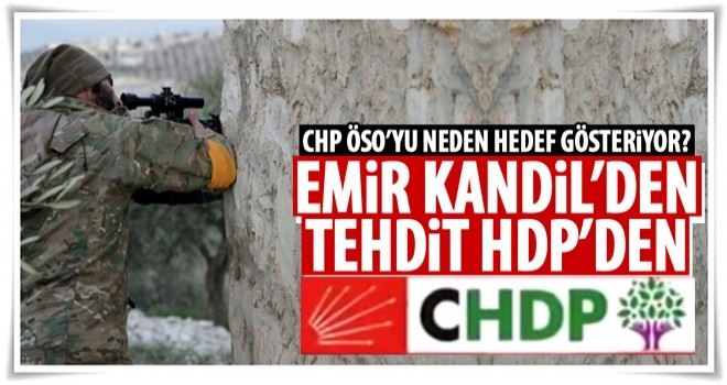 CHP, ÖSO'yu neden hedef gösteriyor?