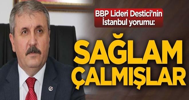 Destici: Binali Bey'i destekliyoruz