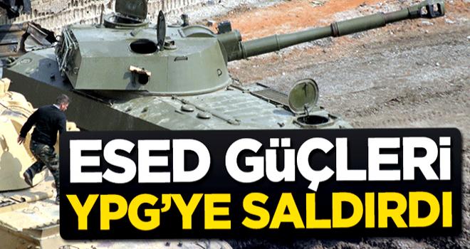Esed güçleri YPG'ye saldırdı