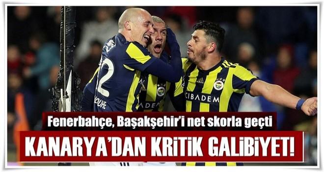 Fenerbahçe, Başakşehir'i net skorla geçti
