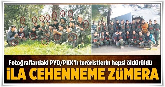 Fotoğraflardaki tüm teröristler öldürüldü