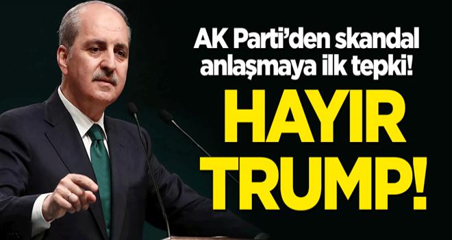 AK Parti'den Trump'a ilk tepki: Kudüs İslam dünyasının kalbi ve Filistin'in başkentidir!