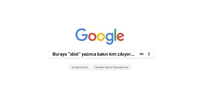 Google'dan tescilli ''SALAK''