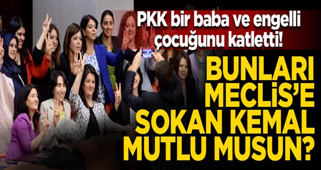 Terör örgütü PKK baba ve engelli çocuğunu acımasızca katletti