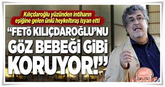 Ünlü heykeltıraş isyan etti: 'Kılıçdaroğlu yüzünden intiharın eşiğindeyim!' .