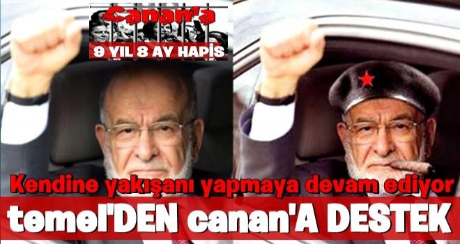 Temel Karamollaoğlu'ndan Kaftancıoğlu'na destek
