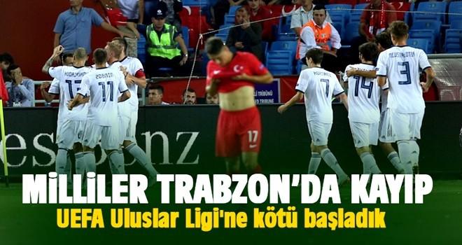 Milliler UEFA Uluslar Ligi'ne kötü başladı