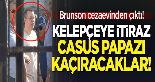 ABD'li casus rahip Brunson cezaevinden çıktı! Elektronik kelepçeye itiraz: Kaçıracaklar!