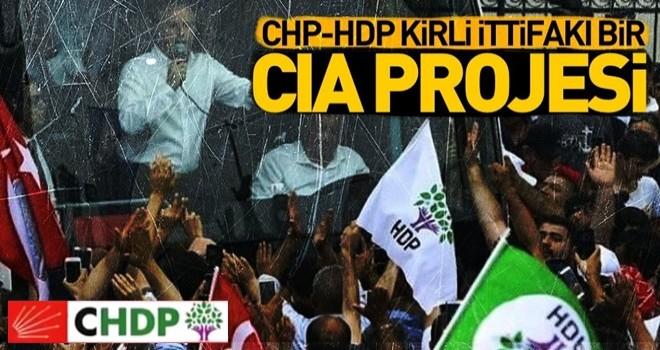 HDP VE CHP ittifakının yolu CIA'de kesişti .