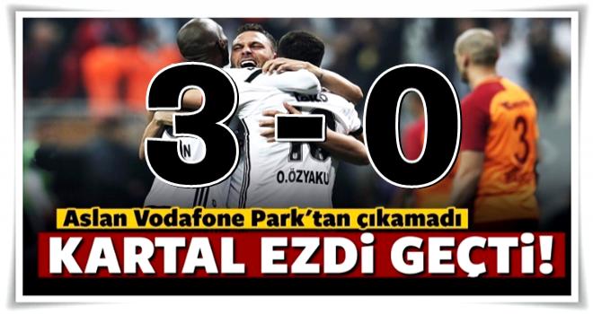 Beşiktaş lider Galatasaray'ı ezdi geçti!