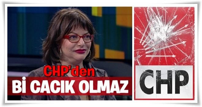 CHP'li vekile şok cevap! 'CHP'den cacık olmaz'