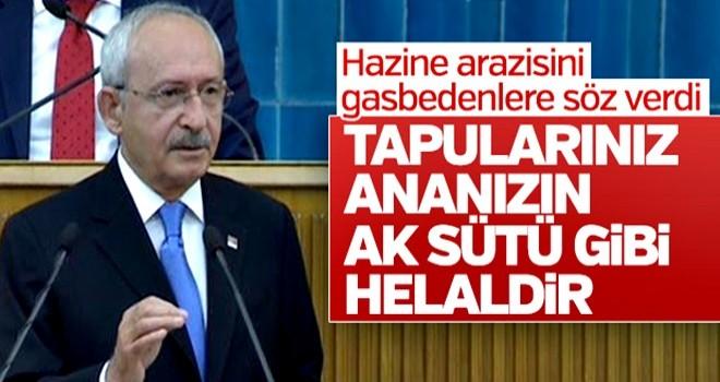 Kılıçdaroğlu tapusuz evlere tapu sözü verdi