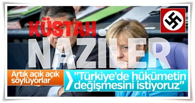 Alman bakan Gabriel'den küstah Türkiye açıklaması
