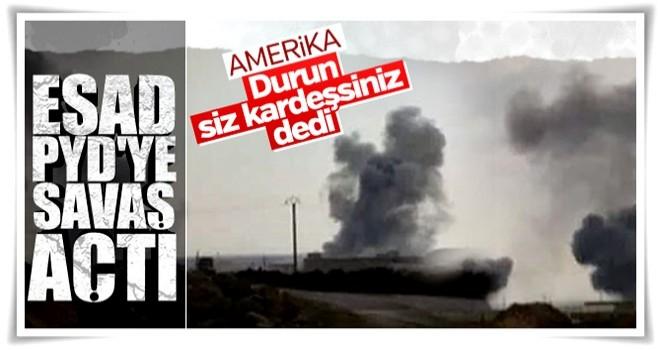 ABD, Esad-YPG çatışmasını önlemek istiyor