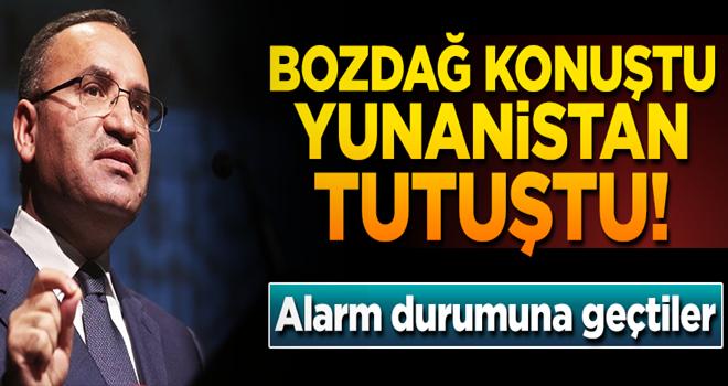 Bozdağ açıkladı, Yunan polisi darbeciler için alarma geçti!