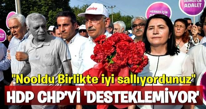 HDP İnce'yi desteklemeyecek!